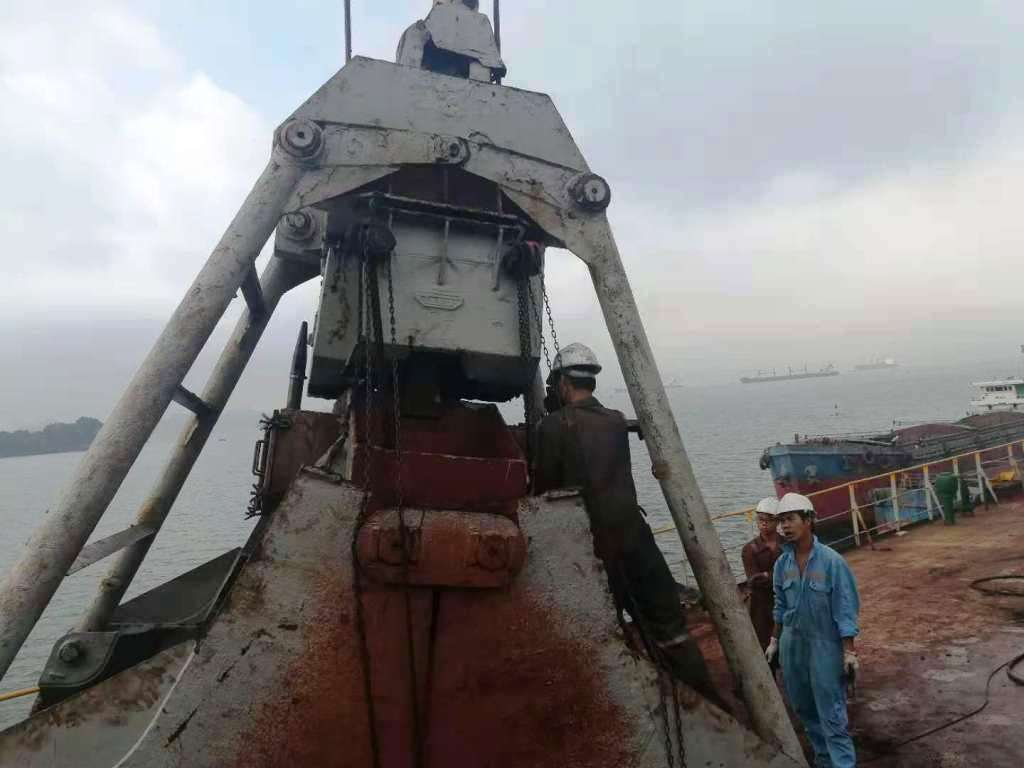 Repair  Marine Grab in Vietnam