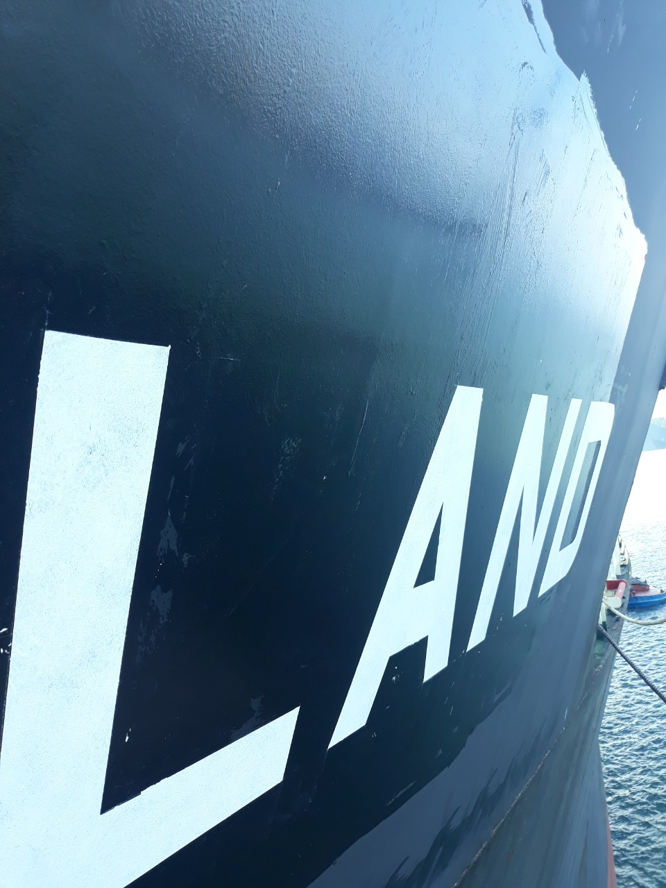PAINTING SHIP NAME IN VIETNAM
