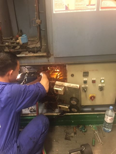 AIR CONDITION PLANT REPAIRS IN PHU MY PORT, VIETNAM